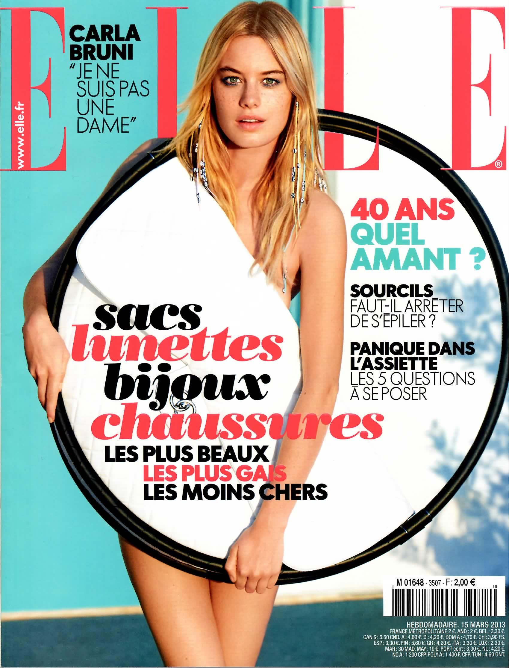 ELLE FRANCE - MARCH 2013