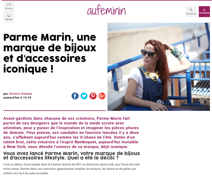 AUFEMININ - APRIL 2017