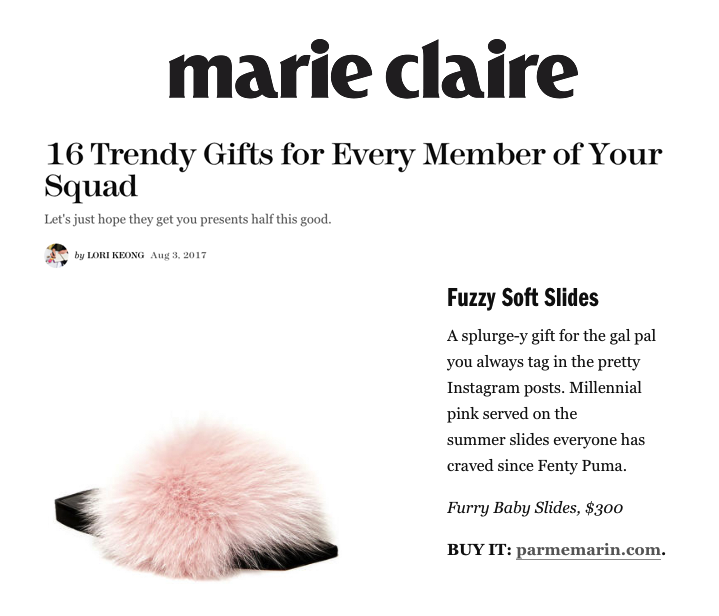 MARIE CLAIRE - AOUT 2017