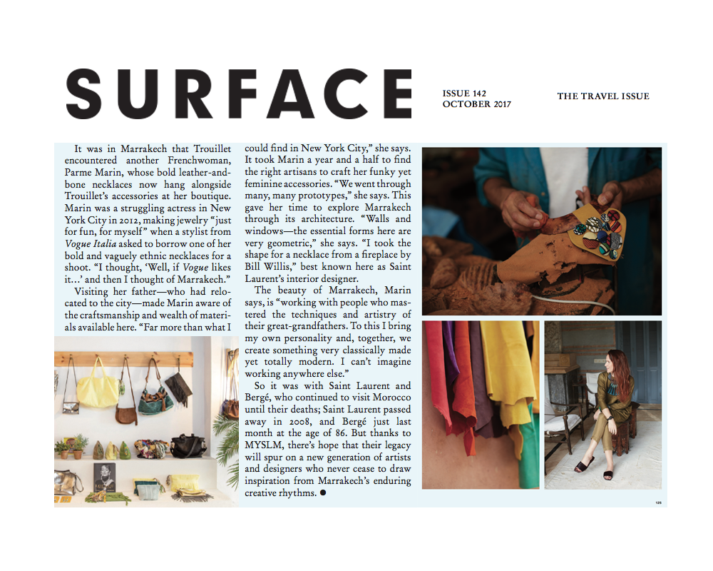 SURFACE MAGAZINE - OCTOBER 2017