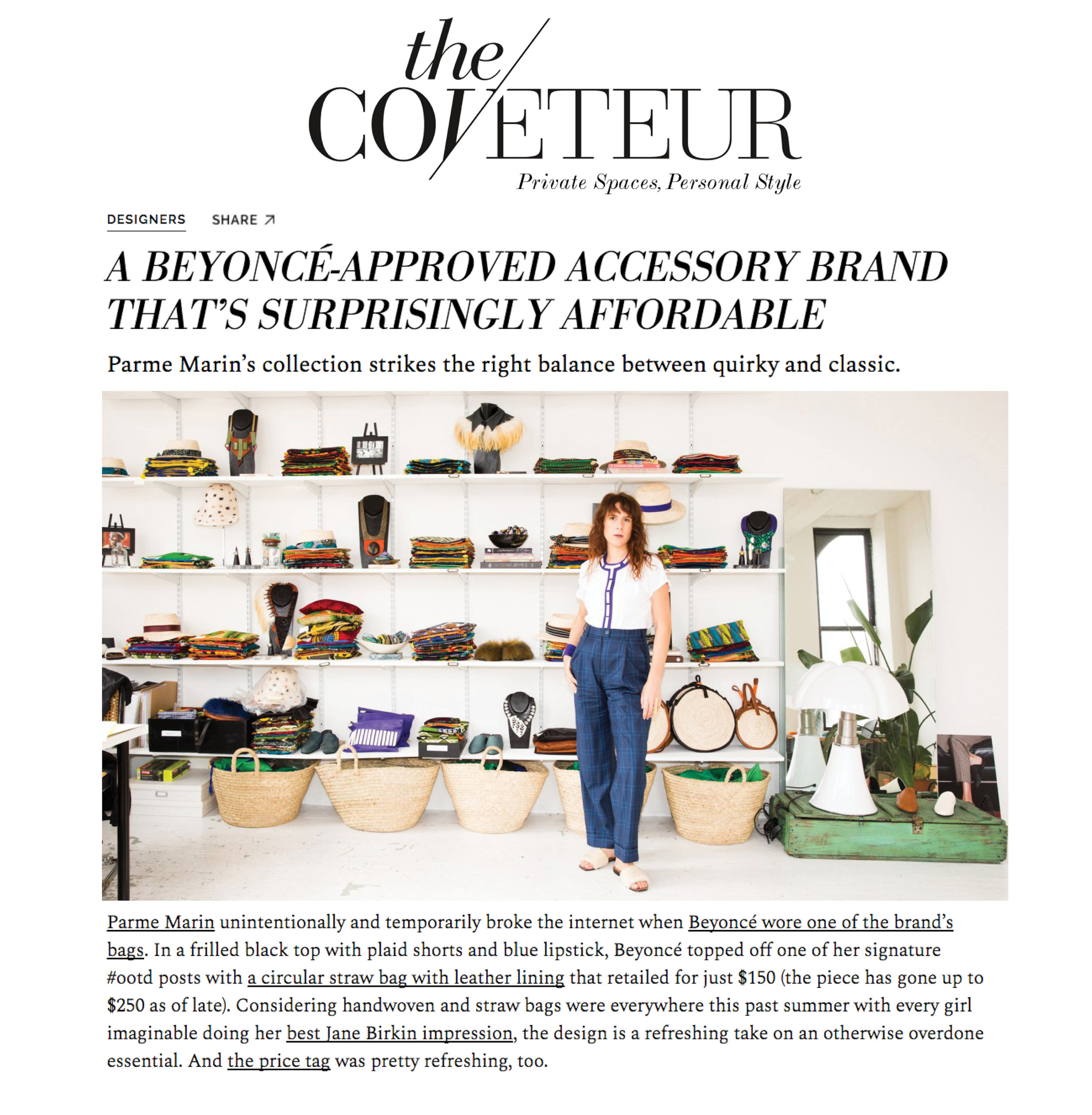 THE COVETEUR DECEMBER 2017