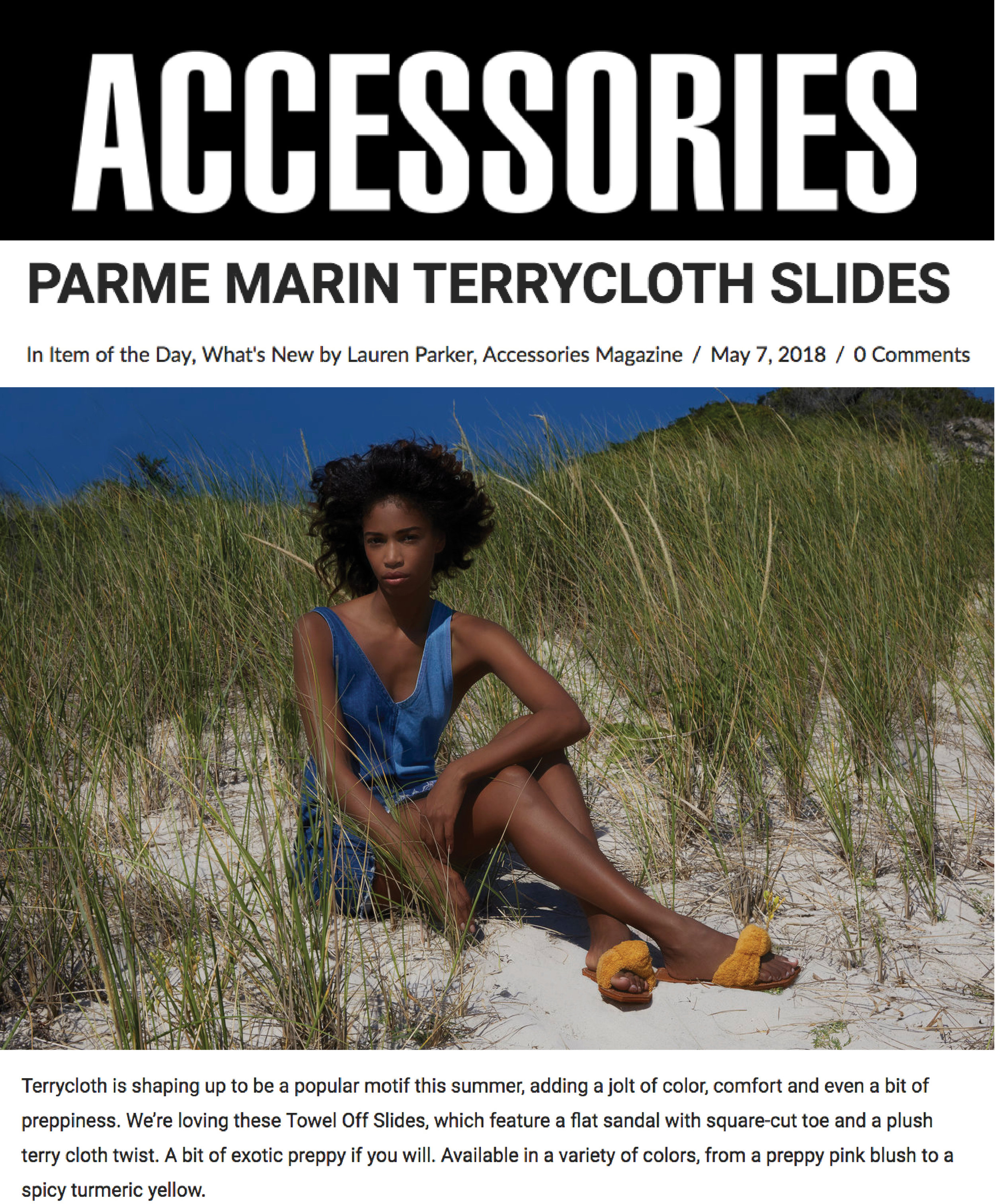 ACCESSORIES MAG MAY 2018