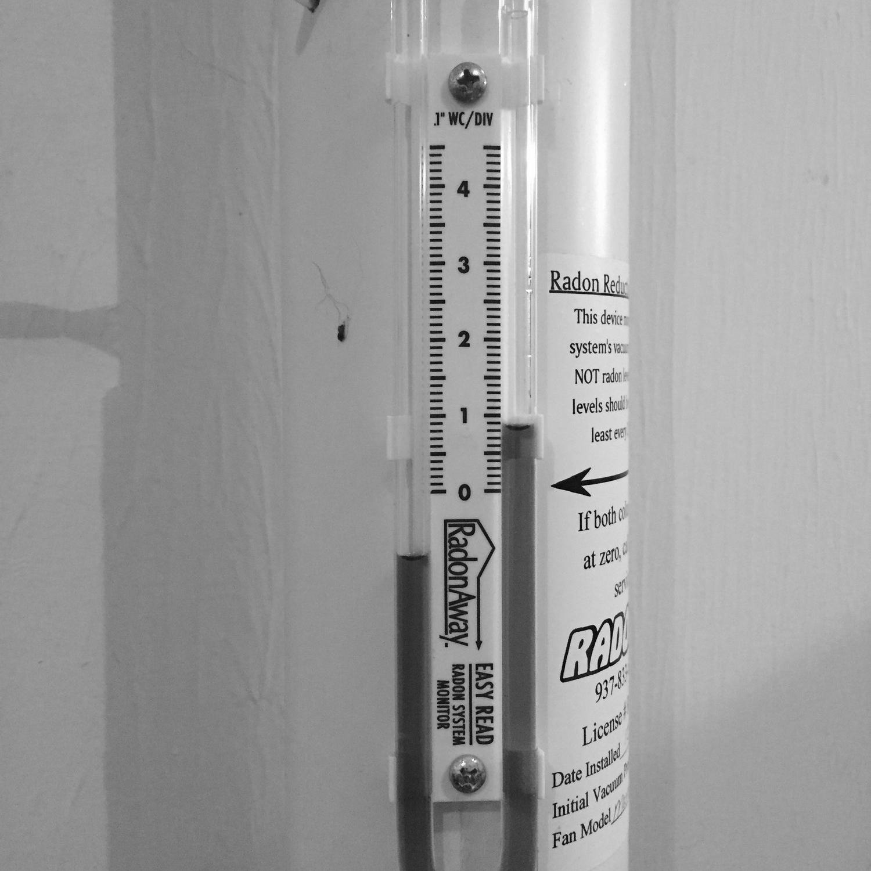 Radon Testing Instrument