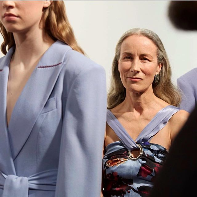 The Global women-hood collection @teatumjones #lfw #aw18  Lead hair: @jonreymanhair @avedauk @dysonhair 📷: @michbt  @franklinonfashion your hair was a dream to work with.  #london #fashionweek #hairstylists #dysonhair #lovemyjob