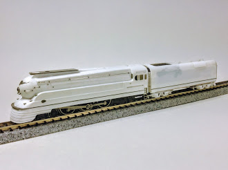 Image of unpainted work in progress model by Keystone Details