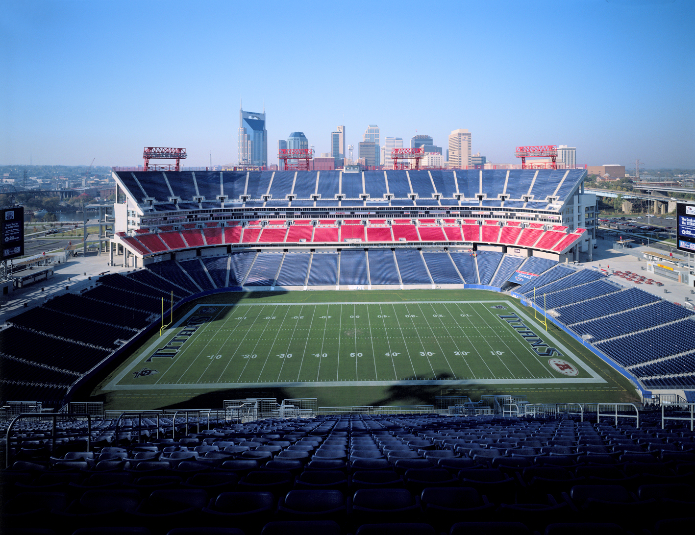 NFL Titans Coliseum   Nashville, Tennessee