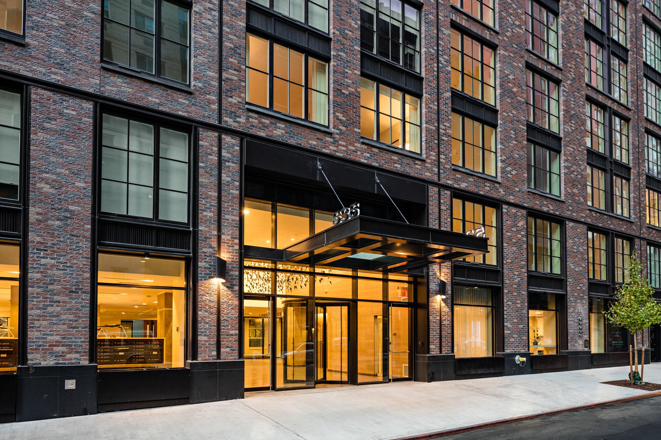 535 West 43rd Street   New York, New York
