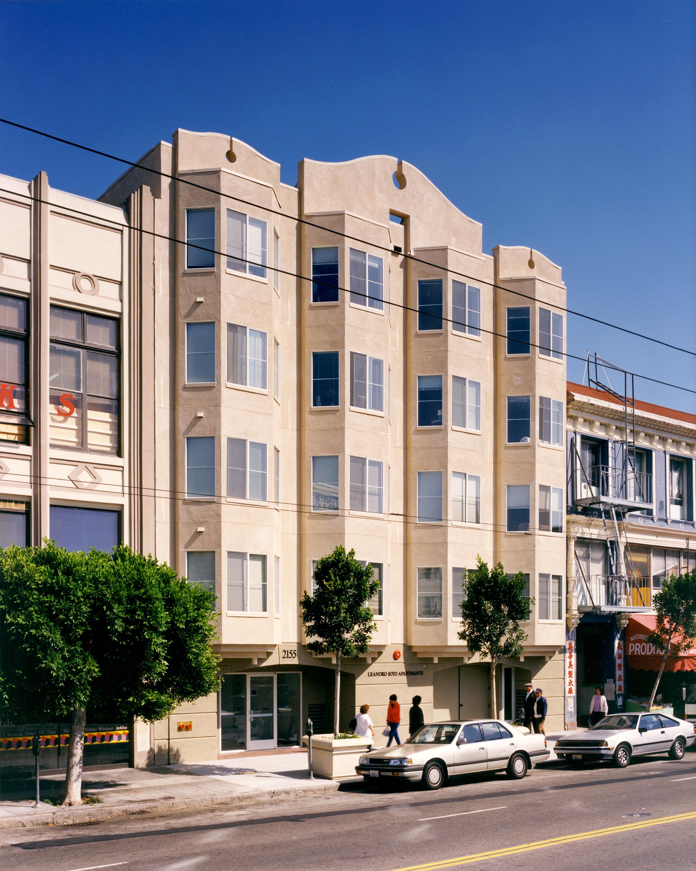 Leandro Soto Apartments   San Francisco, California