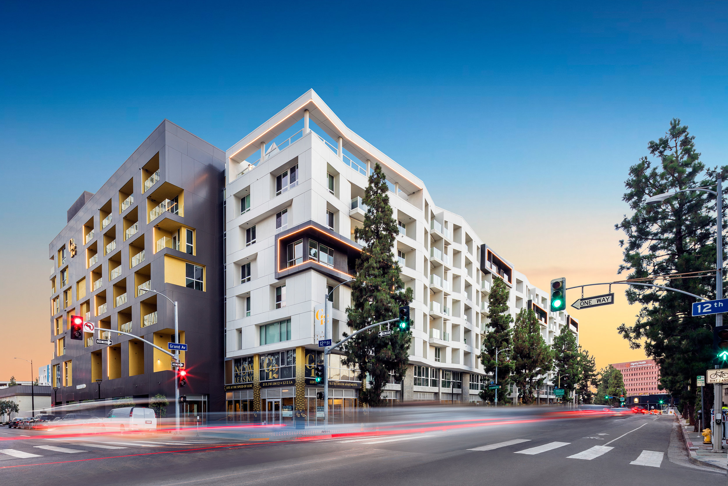 12th & Grand / Olive & Pico   Los Angeles, California