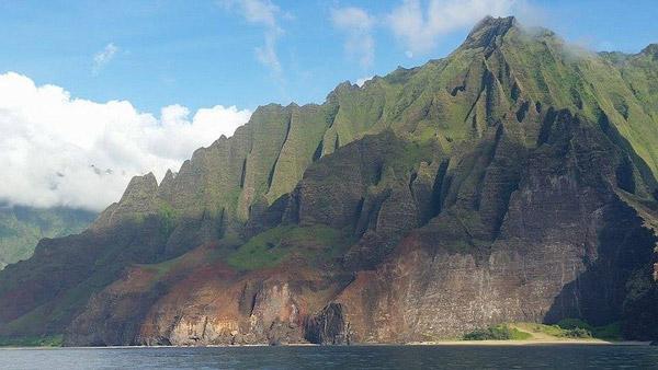 The Iconic Napali Coast of Kauai.
