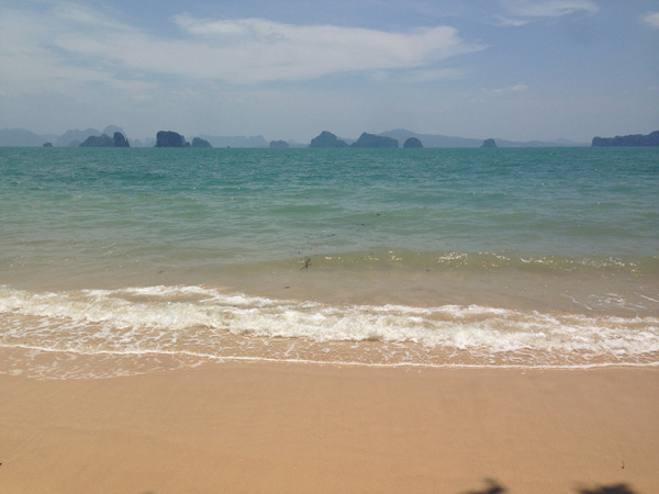 Beach views on the island of Ko Yao Noi.