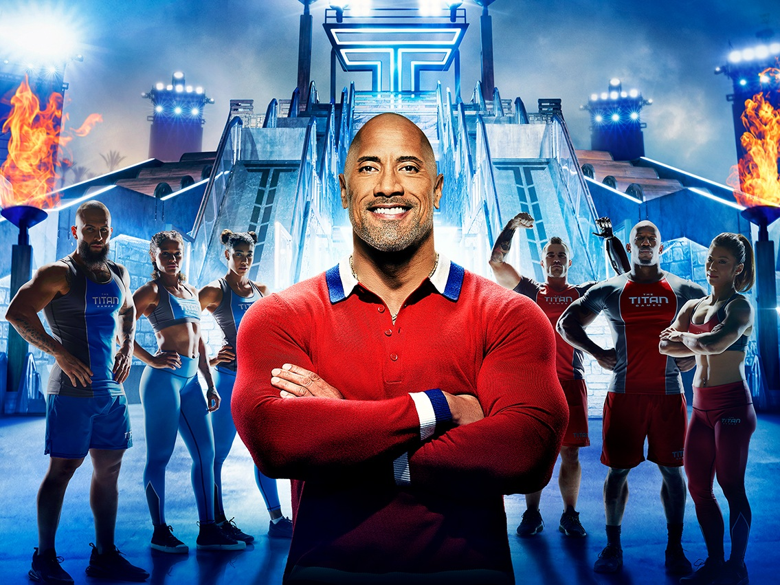 THE TITAN GAMES - NBC has partnered with Dwayne Johnson and Dany Garcia to produce a new large-scale physical competition series,