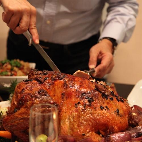 $25 million in turkey roasting costs alone. Wow!
