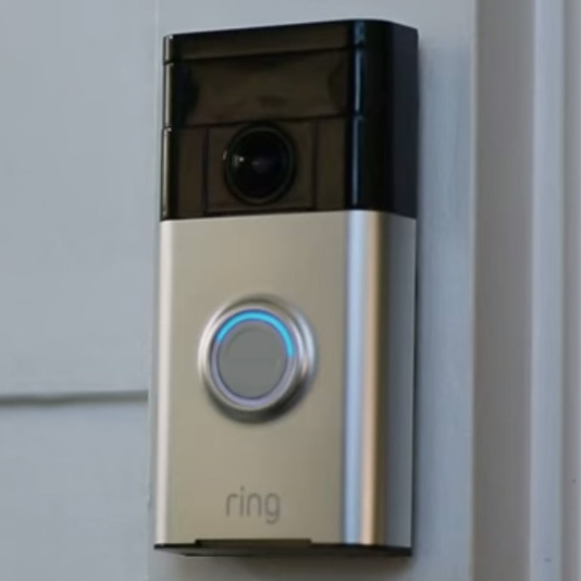 The Ring doorbell. Look and see who is at the door before they even ring the bell.