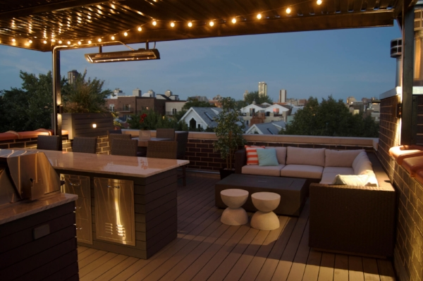 If your deck has a barbecue, don't leave guests in the dark!