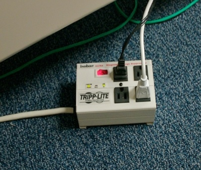 People often buy surge protectors for other kinds of wiring connections such as those for telephone and cable tv wiring.