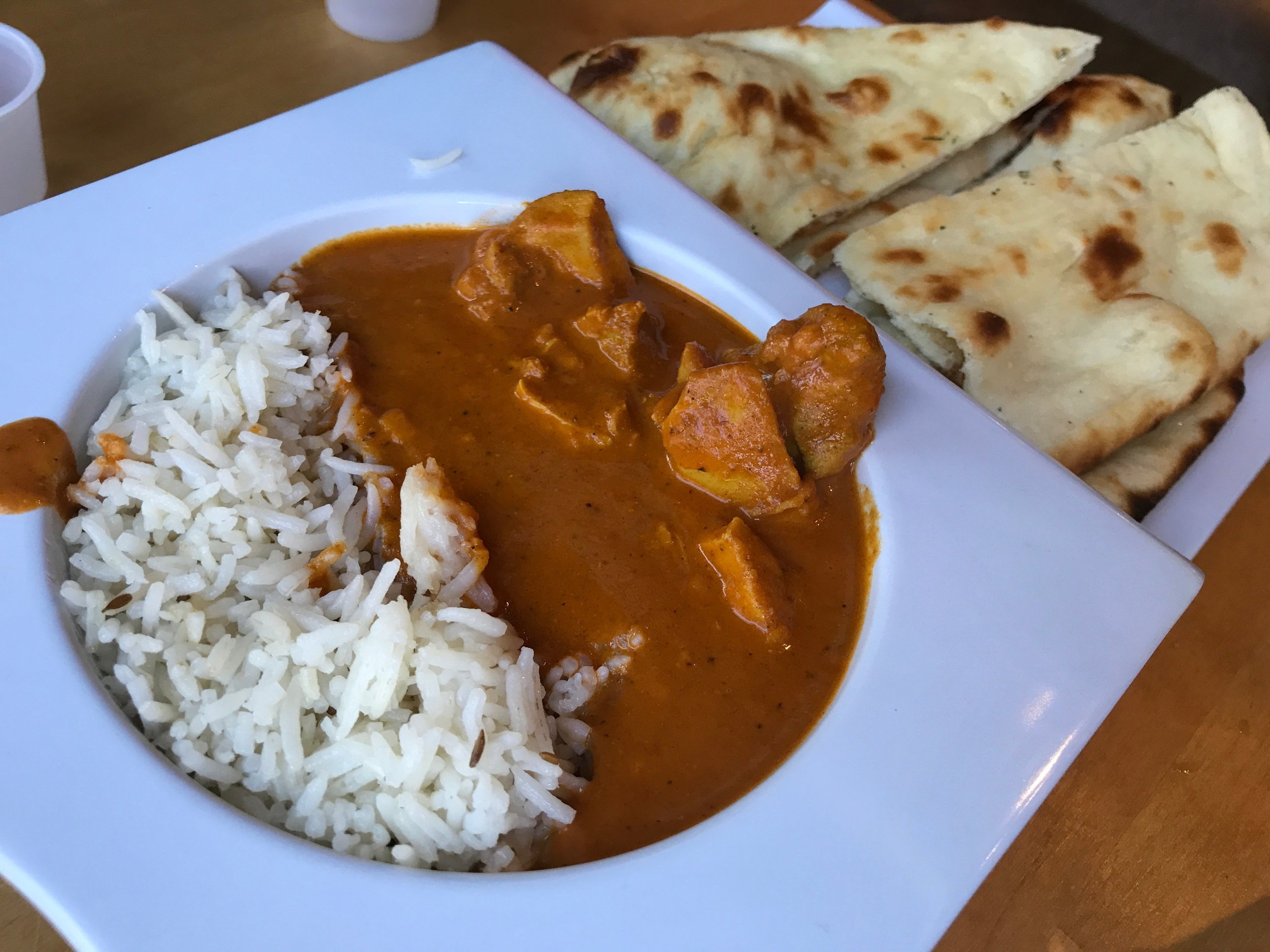 Open tandoor chicken tikka masala