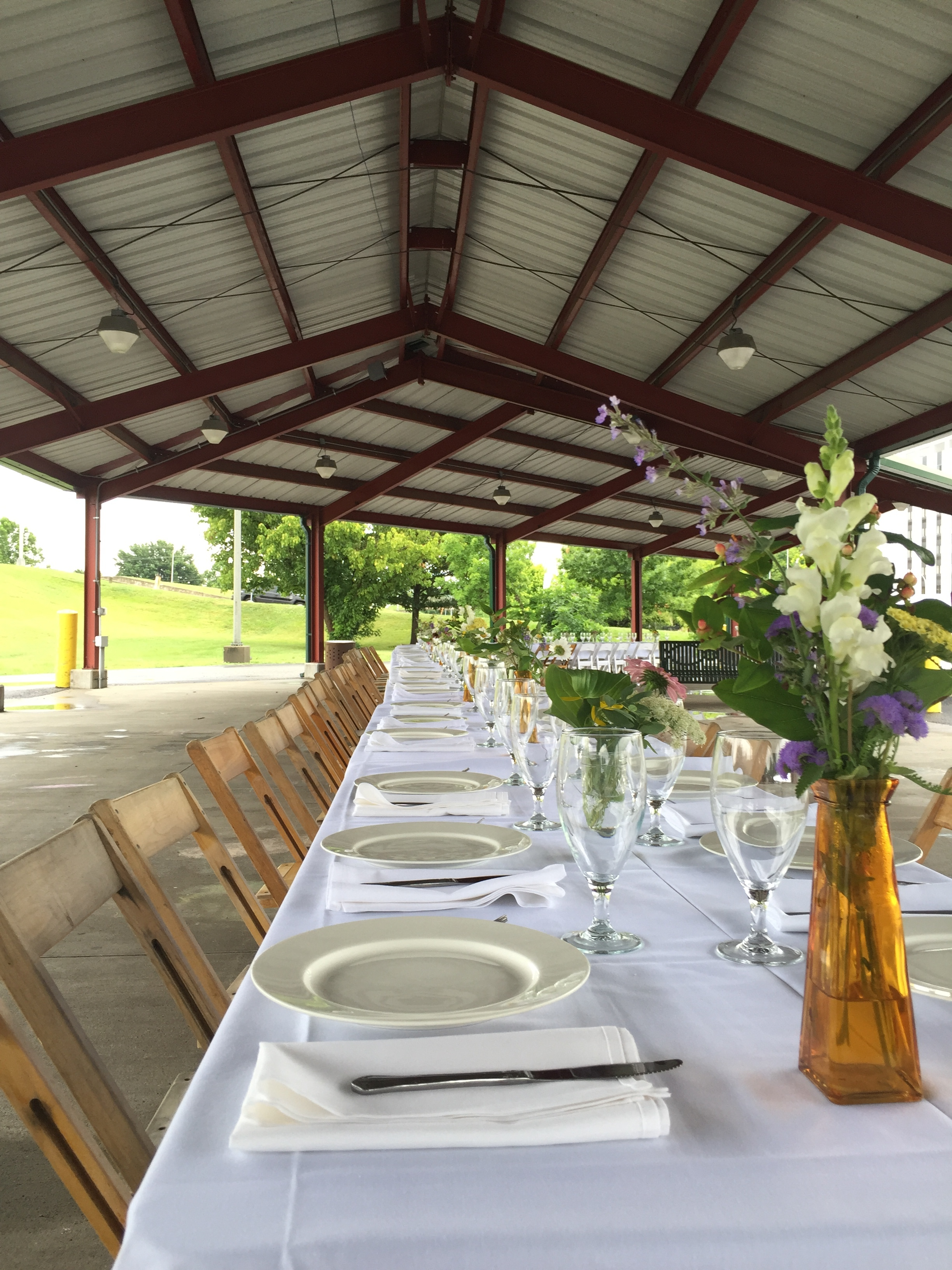 Farm to Table Dinner July 4, 2016.