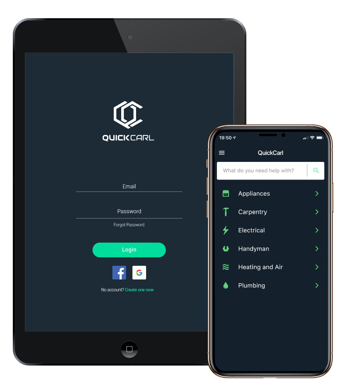 QuickCarl - Talk to a Pro Now with On-Demand Virtual Service Calls