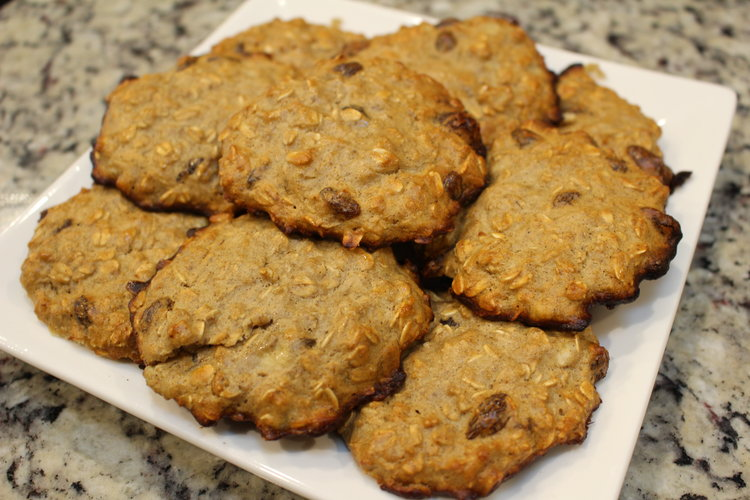 High Protein Oatmeal Raisin Protein Cookies