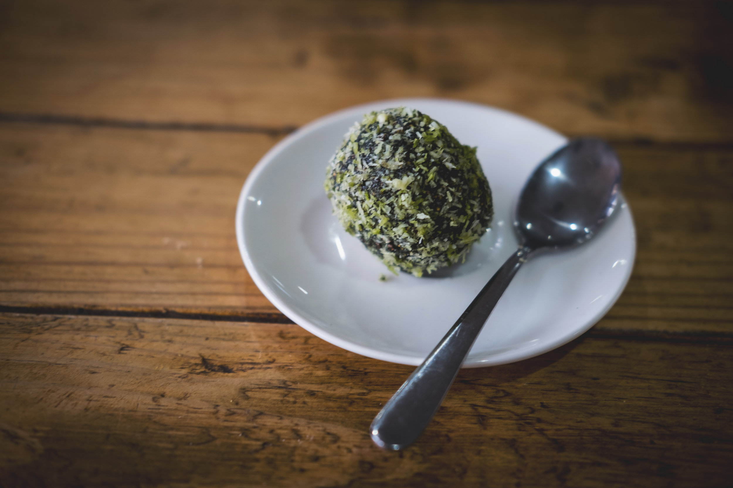 Matcha bliss ball