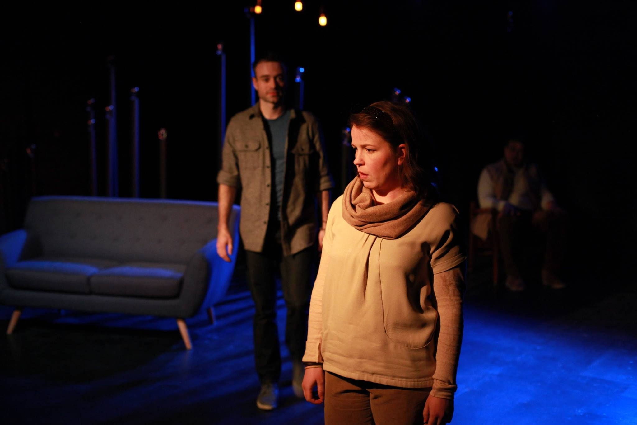 "NOTHING OF ME  -Akvavit Theatre    ""The finest performance is provided by talented Chicago actress Kirstin Franklin. Playing a range of characters, from a mother to a young child, this accomplished actress brings some much-appreciated depth to her narrative performance."" ---CHICAGO THEATER CRITIC     ""Franklin faces the daunting task of playing ages ranging from granddaughter to grandmother, which she accomplishes subtly and with no real costume change."" ---CHICAGO THEATRE BEAT      ""Franklin delivers by far the most interesting and grounded performances in the show."" ---TIME OUT CHICAGO"
