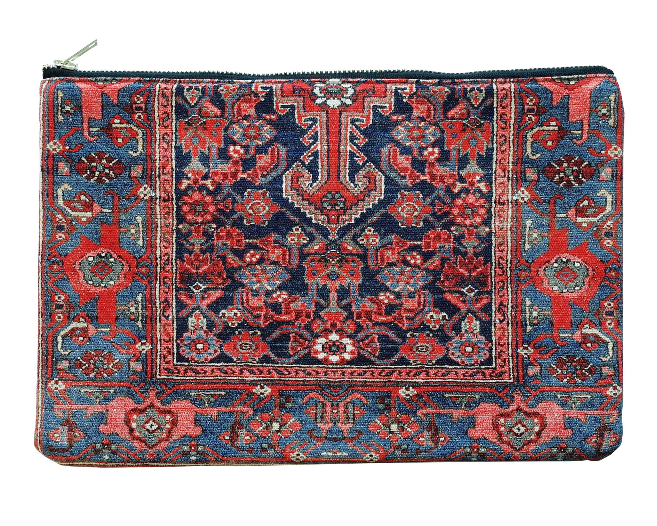"Persian carpet print. ""Bringing your home around"""