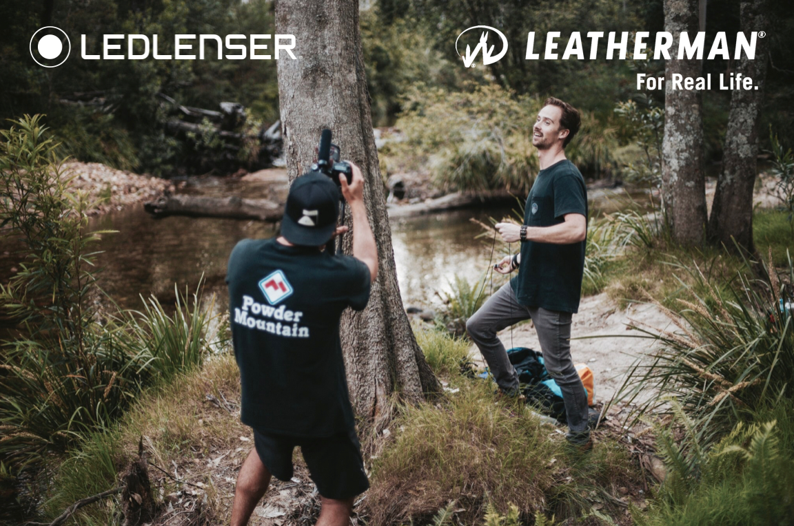 Evan Blake - Brand Manager |  Leatherman & Ledlenser, Australia -  Ollie has worked with a number of our brands on multiple projects and is an absolute gun to work with.He is driven by our brands creative objectives and always focused on the result.In the outdoor industry we're generally tackling challenges and often find ourselves in precarious places. No matter if it's a multi-day hike in 35 degree heat, or in the rain engaging people to perform for the camera, Ollie is not afraid to get amongst it and takes on everything in a positive, friendly way… with exceptional output and turnaround.