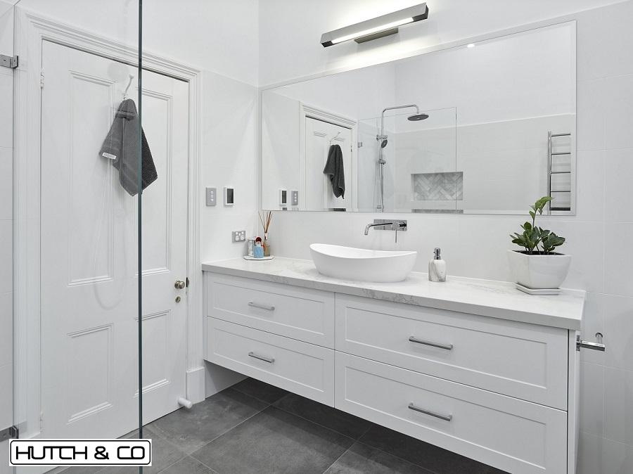 custom designed shaker vanity