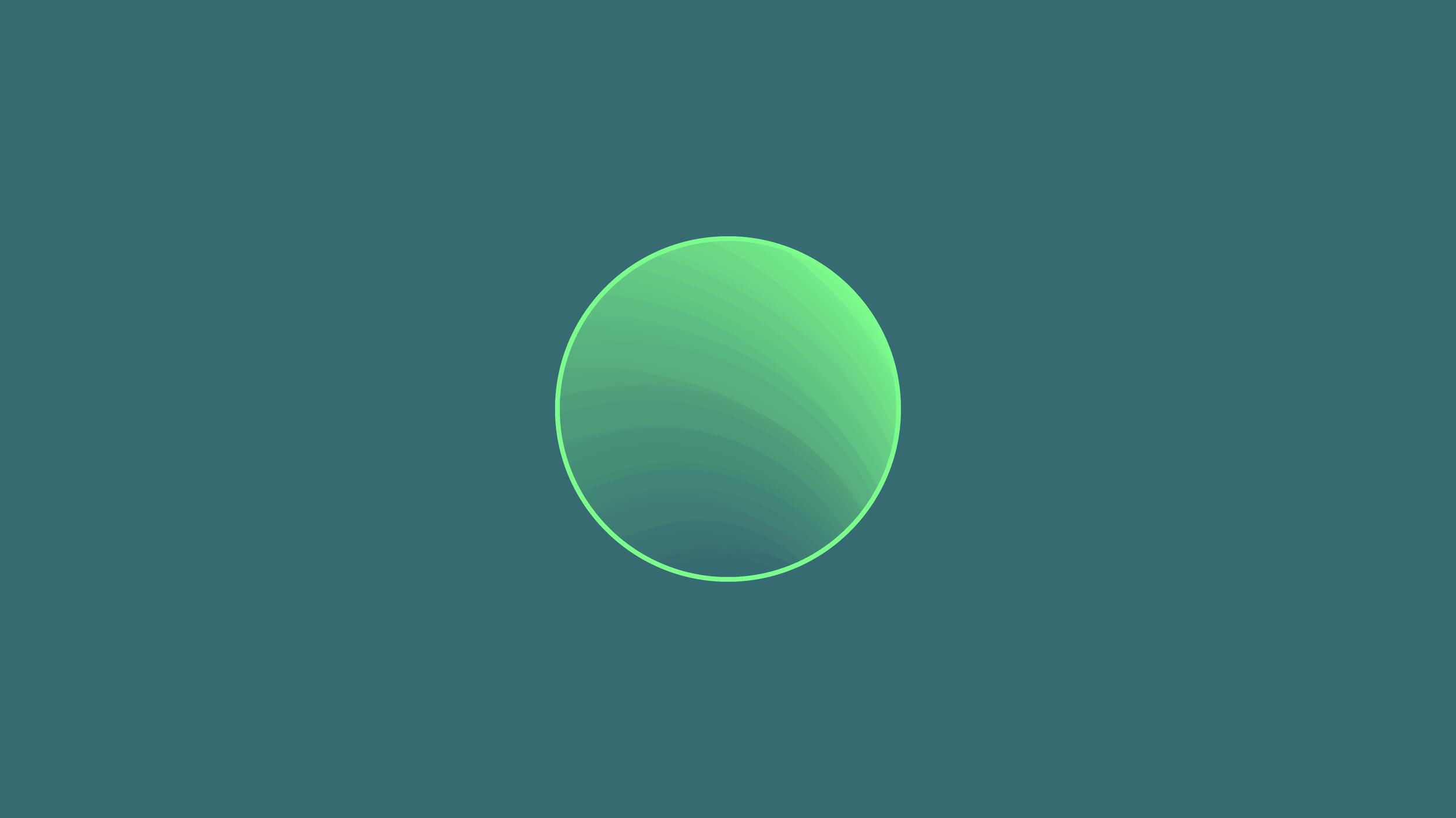 Pale Green Dot