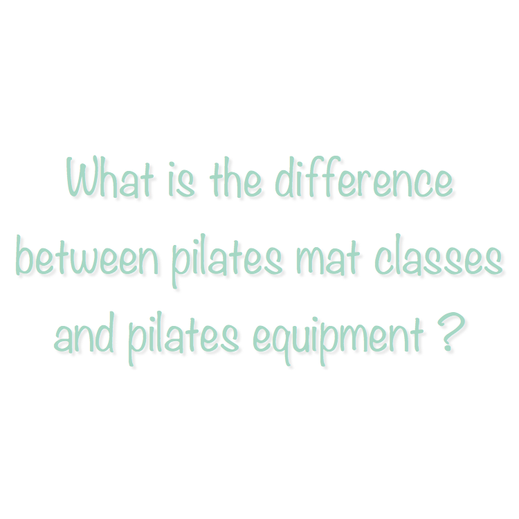 The most apparent and noticeable difference between mat classes and equipment sessions is the location of the Pilates work. With a mat class the movements are done on the mat. With mat work you are using your body weight as resistance for the movements.  With equipment sessions, the movements take place on a piece of Pilates equipment. During a duet or private session you will work on one or more of the pieces of Pilates Equipment that we have at Plank (Reformer, Tower, Exo Chair, Combo chair or the Pilates Arc.) In a private or duet equipment session you are lead through a series of movements by your instructor. The use of the equipment adds resistance from the springs of the specific piece of equipment that allows a client to work very precisely to develop core strength and improve flexibility.  In order to get the best overall benefits of Pilates it is most ideal to do both mat work and equipment work.