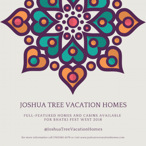 Bhakti Fest Vacation Rentals - JoshuaTreeVacationHomes.com