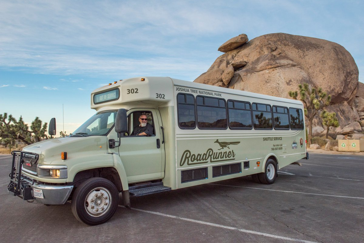 Joshua Tree National park Roadrunner shuttle - Service suspended