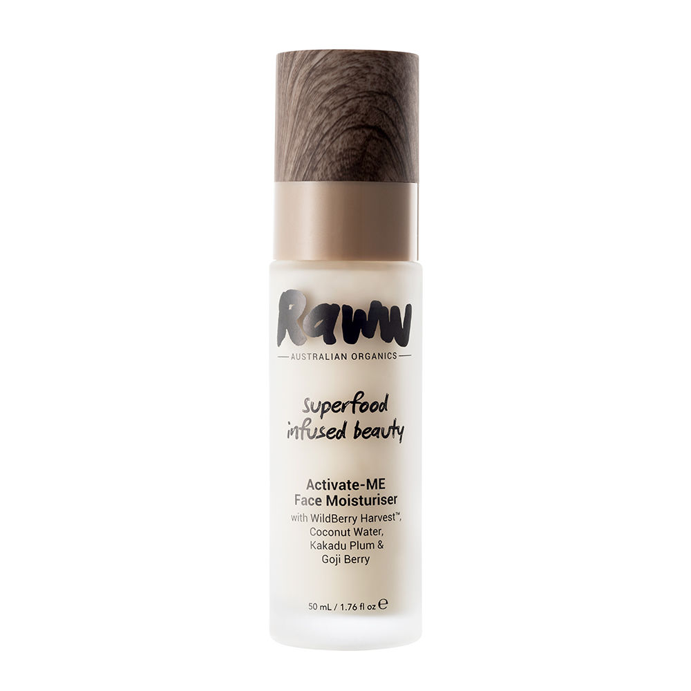 Raww Cosmetics - Activate-ME Face Moisturiser - I have been using the Raww moisturiser in conjunction with their cleanser ever since I first discovered their products and let me say, I am so so impressed. Their moisturiser is lightweight, hydrating and has the most beautiful vanilla, lime & coconut smell!