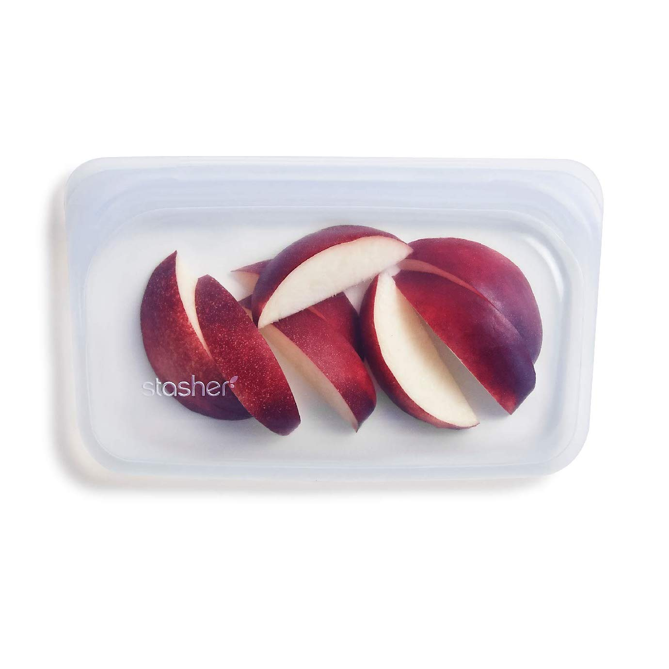 Stasher - Reusable Snack Size Bag (Clear) - This reusable silicone bag is honestly a must have in my kitchen! It truly is the perfect pouch size so you can easily pop it into your bag and bring your favourite snacks with you on the go. It's BPA, non-toxic and dishwasher safe and aside from using it for snacks, you can also cook in them, use them in the oven and freeze them!!