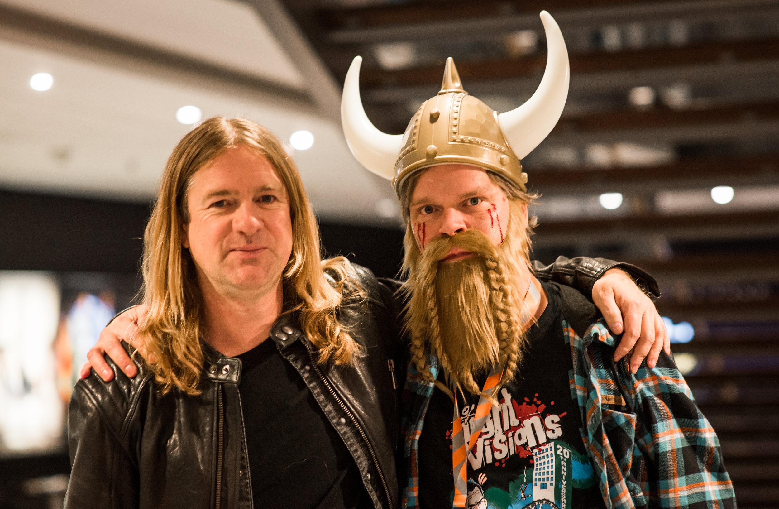 Night Vision Festival / Bob Hannam ja Mikko Aromaa    11.11.2016