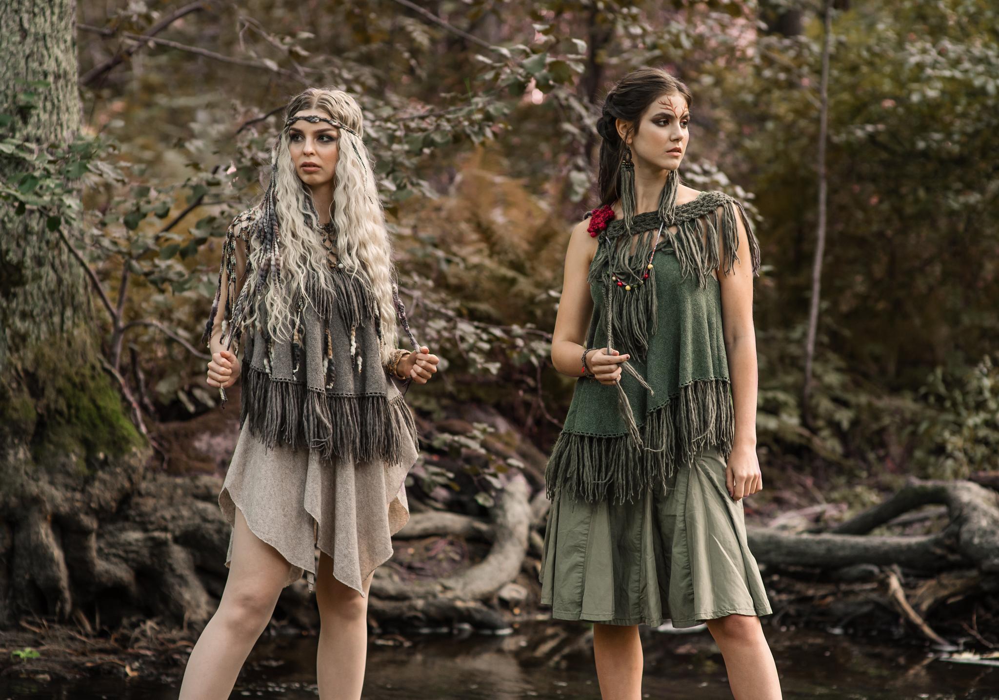 Design: Mai Niemi Design MUAH: Tiina Willman Models: Vivian Virkki & Marietta Minetti