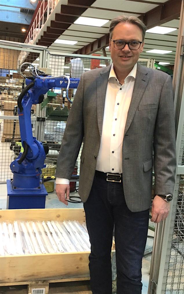 Automatisering. – Effektivisering og automatisering er blant satsingsområdene til Spilka, forteller Eivind Aas.