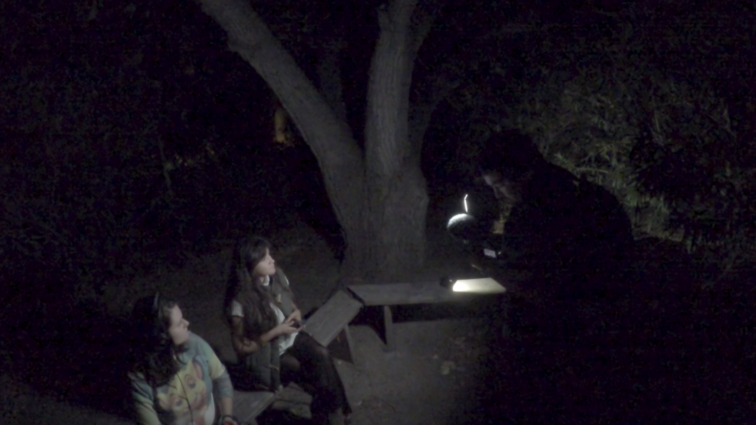 We held an EVP Session with a paranormal investigator.
