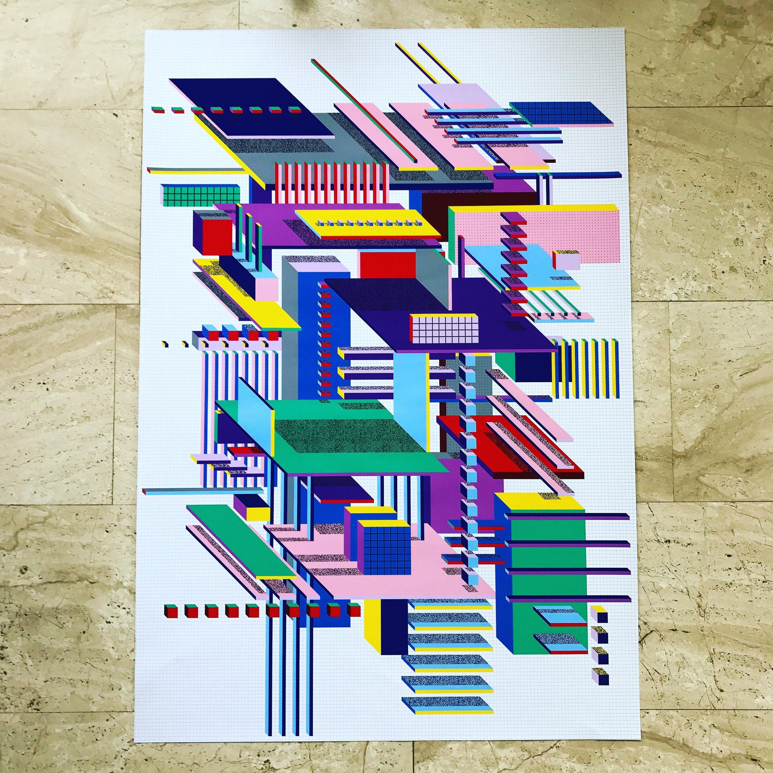 A1 size poster print
