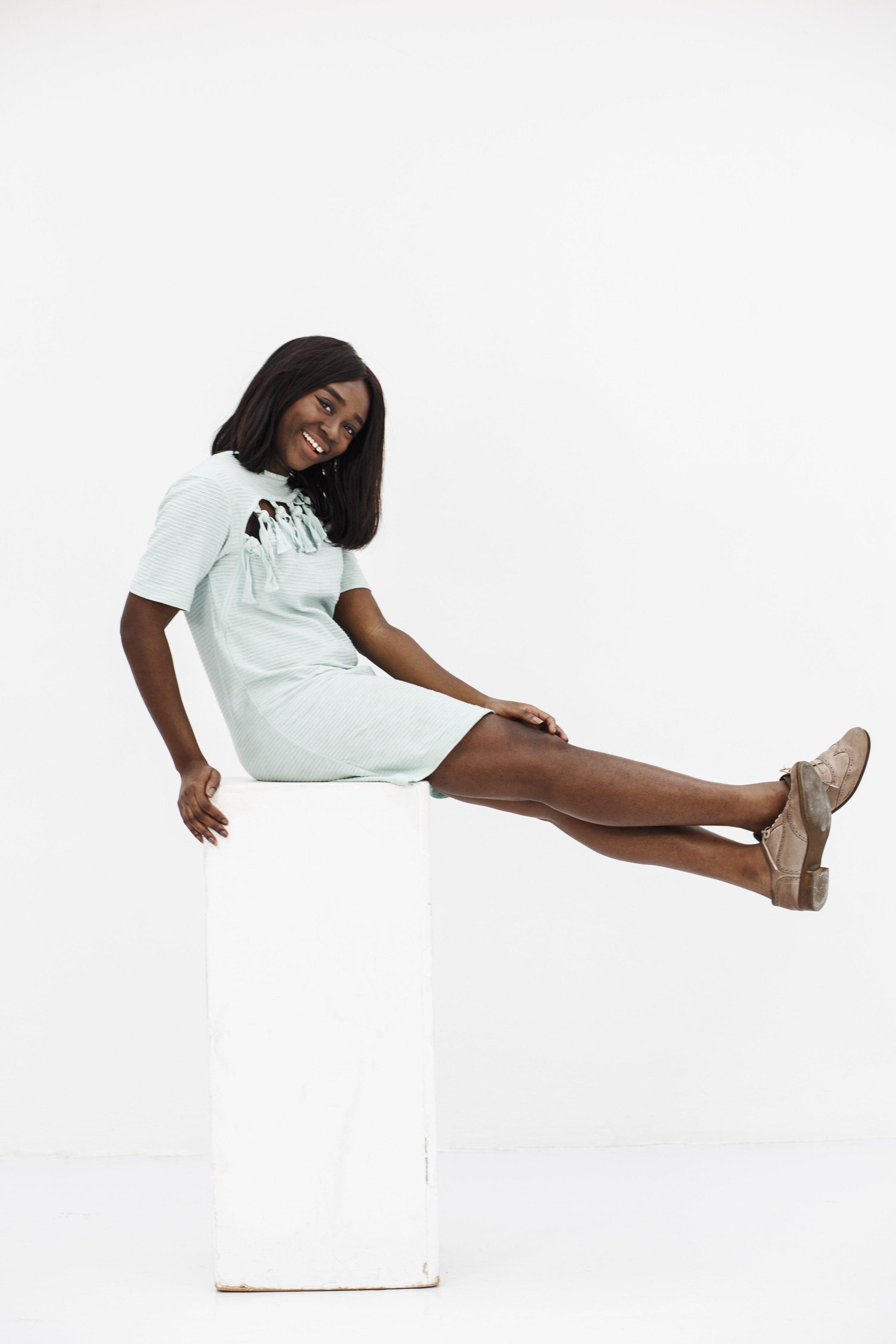 Awura Abena Simpe - Awura is the founder of Creative Women Collective, an ex-lawyer specialized in intellectual property and incredibly passionate about sparking courage in creative women. And fries. And Brené Brown. And podcasts.Photo: Carly Wollaert