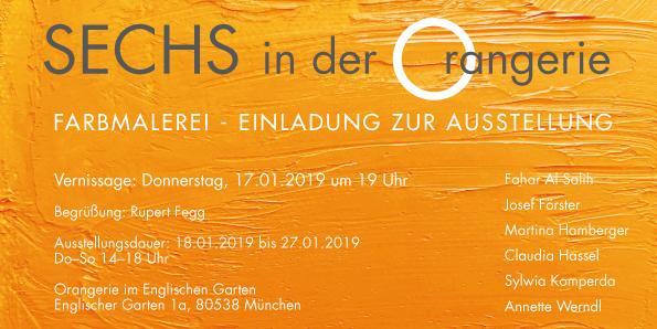 - Ausstellung in der Orangerie im Englischen Garten München Meisterschüler Prof Jerry Zeniuk