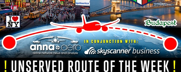 AnnaAero and Skyscanner: Unserved Route of the Week