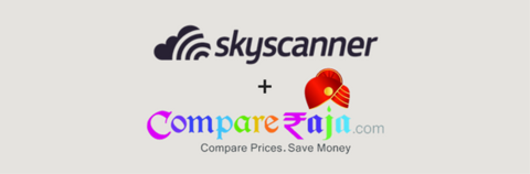 Skyscanner and CompareRaja