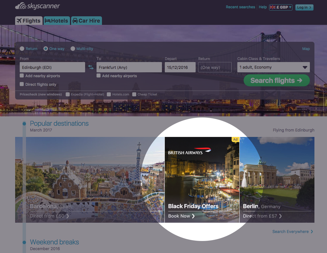 Homepage Tile