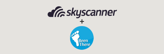 Skyscanner partners with GoBeenThere