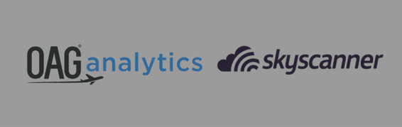 OAG analytics and Skyscanner