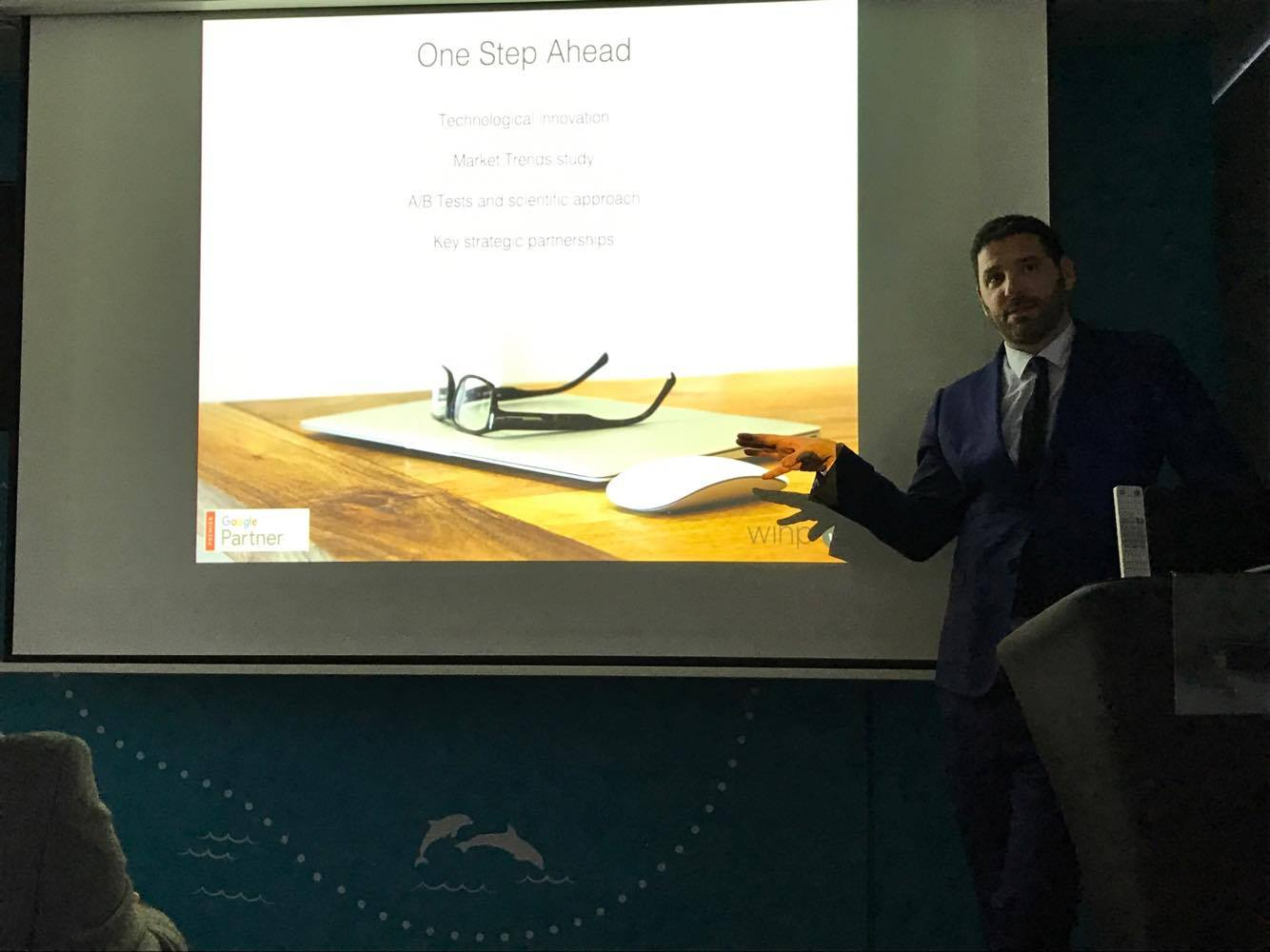 One Step Ahead during Skyscanner's First industry hotels event