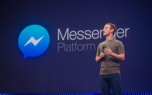 Mark Zuckerberg speaks about Messenger Platform