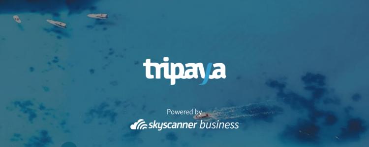 Tripaya and Skyscanner for Business Logos